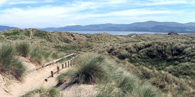 The wonderful dunes of YnysLas.